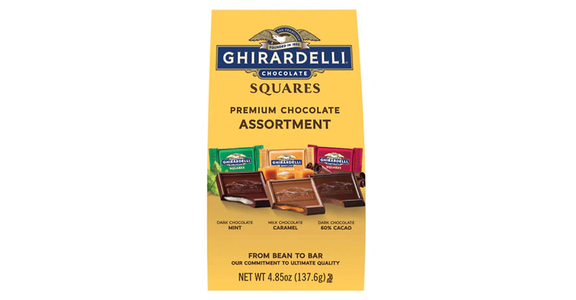 Ghirardelli Chocolate Squares Assorted Favorites (4.85 oz) from EatStreet Convenience - N Port Washington Rd in Glendale, WI