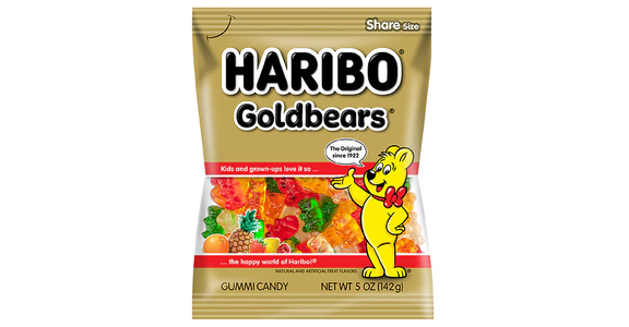 Haribo Gold Bears Gummi Candy (5 oz) from EatStreet Convenience - Branch St in Middleton, WI