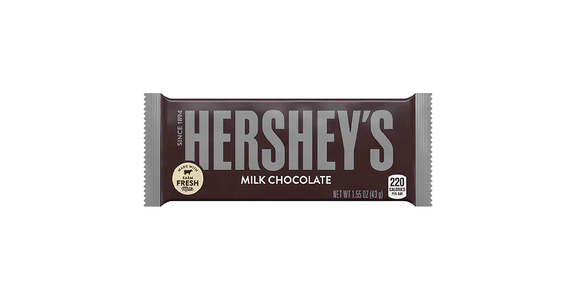Hershey's Milk Chocolate Bar (2 oz) from EatStreet Convenience - Branch St in Middleton, WI