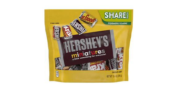 Hershey's Miniatures Chocolate Candy Assorted (10 oz) from EatStreet Convenience - N Port Washington Rd in Glendale, WI
