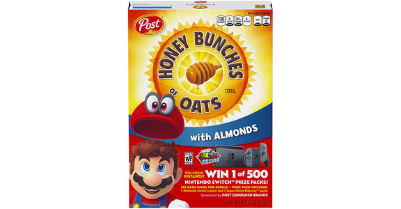 Honey Bunches of Oats Cereal with Almonds (14 oz) from EatStreet Convenience - N Port Washington Rd in Glendale, WI