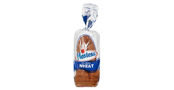 Hostess Classic Bread Loaf Wheat (20 oz) from EatStreet Convenience - Branch St in Middleton, WI