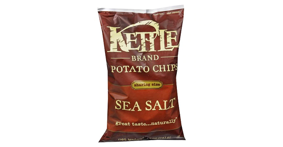 Kettle Chips Potato Chips Sea Salt (8 oz) from EatStreet Convenience - Branch St in Middleton, WI