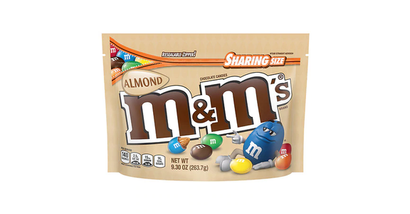 M&M's Almond Sharing Size (9 oz) from EatStreet Convenience - N Port Washington Rd in Glendale, WI