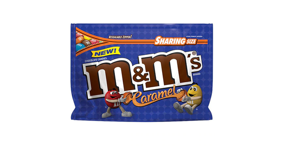 M&M's Caramel Chocolate Candies Caramel (10 oz) from EatStreet Convenience - Branch St in Middleton, WI