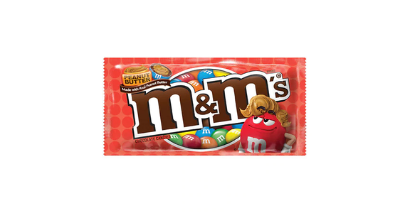 M&M's Chocolate Candies Peanut Butter (2 oz) from EatStreet Convenience - N Port Washington Rd in Glendale, WI