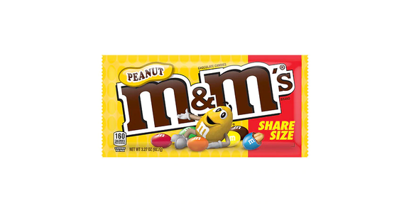 M&M's Chocolate Candies, Share Size Peanut from EatStreet Convenience - Branch St in Middleton, WI