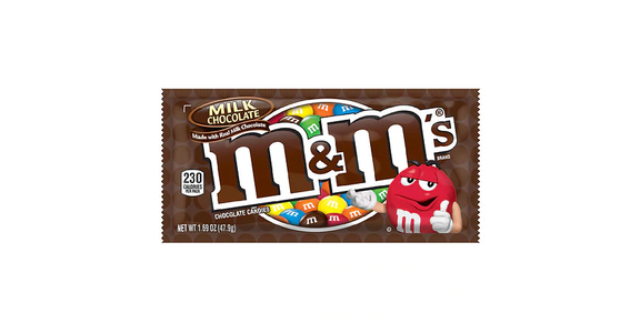 M&M's Milk Chocolate Candy Milk Chocolate (2 oz) from EatStreet Convenience - N Port Washington Rd in Glendale, WI