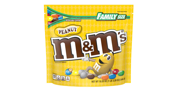 M&M's Peanut Chocolate Candy (19 oz) from EatStreet Convenience - N Port Washington Rd in Glendale, WI