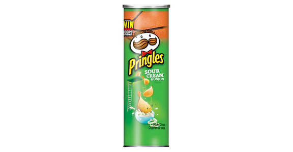 Pringles Chips Sour Cream And Onion (6 oz) from EatStreet Convenience - SW 29th St in Topeka, KS