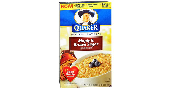 Quaker Instant Oatmeal Maple & Brown Sugar (2 oz) from EatStreet Convenience - N Port Washington Rd in Glendale, WI