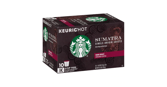 Starbucks K-Cups Sumatra Dark (10 pk) from EatStreet Convenience - Branch St in Middleton, WI