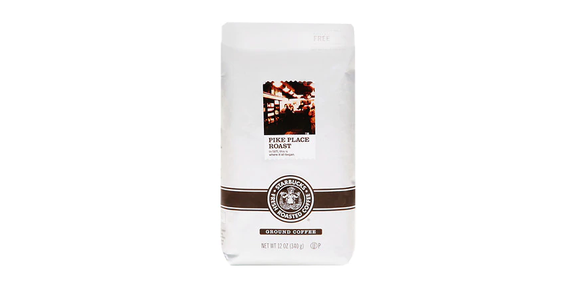 Starbucks Pike Place Medium Roast Ground (12 oz) from EatStreet Convenience - N Port Washington Rd in Glendale, WI