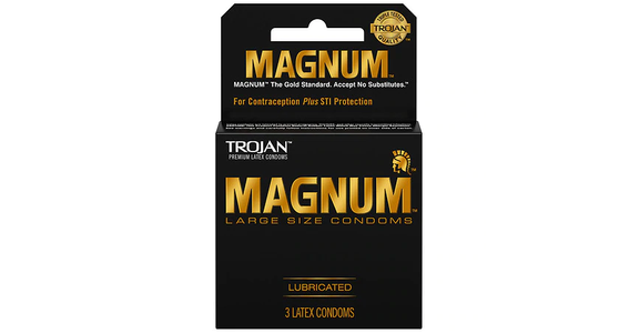 Trojan Magnum Large Size Condoms (3 ct) from EatStreet Convenience - N Port Washington Rd in Glendale, WI