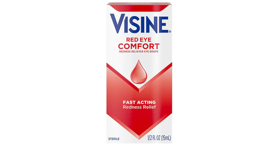 Visine Red Eye Comfort Redness Relief Eye Drops (0.5 oz) from EatStreet Convenience - Branch St in Middleton, WI