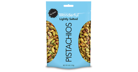 Wonderful In Shell Pistachios Roasted & Lightly Salted (16 oz) from EatStreet Convenience - N Port Washington Rd in Glendale, WI
