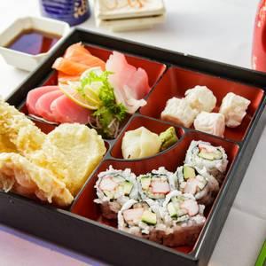 Sashimi Bento Box from Edo Japanese - Madison in Madison, WI