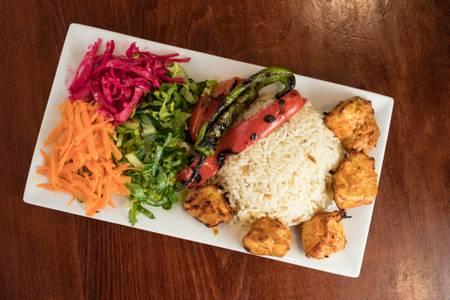 Chicken Kebab from Efes Mediterranean Grill in New Brunswick, NJ