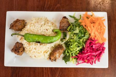 Lamb Shish Kebab from Efes Mediterranean Grill in New Brunswick, NJ