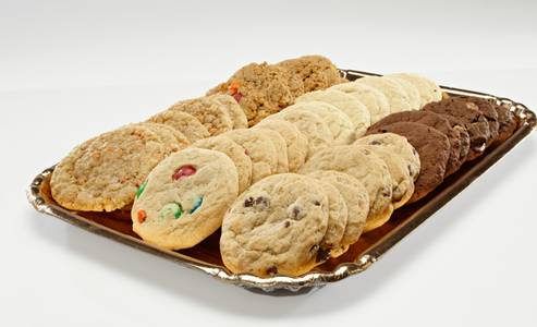 Cookie Tray from Eileen's Colossal Cookies in Lawrence, KS