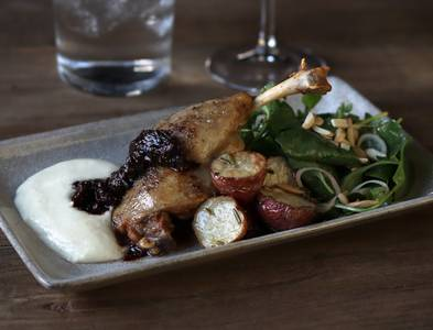 Duck Leg Confit from Everyday Kitchen in Madison, WI