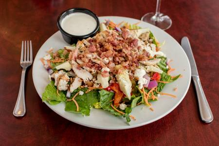 The Blue Bessy Salad from Falbo Bros. Pizzeria - Northside in Madison, WI