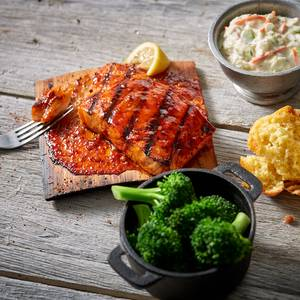 Cedar Plank Salmon from Famous Dave's - Eau Claire in Eau Claire, WI