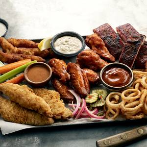 Dave's Sampler Platter from Famous Dave's - Eau Claire in Eau Claire, WI