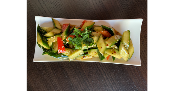 Cucumber Salad from Feast - Artisan Dumpling and Tea House in Madison, WI