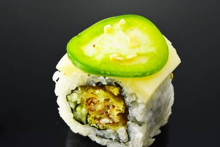 SP13. Snow Stone Roll from Fin Sushi in Madison, WI