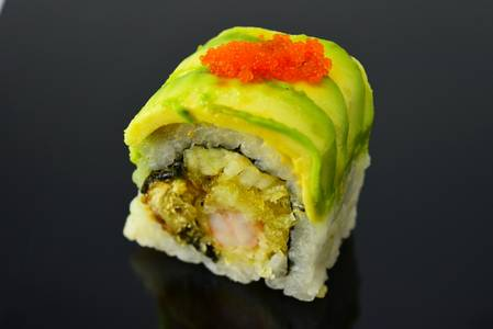 SP5. Dragon Roll from Fin Sushi in Madison, WI