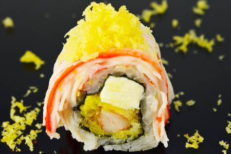 SP7. Monster Roll from Fin Sushi in Madison, WI