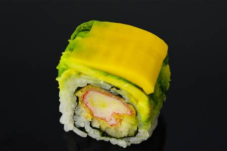SP8. Mango Lover Roll from Fin Sushi in Madison, WI