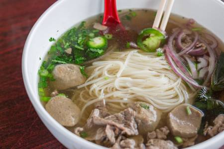 #7. Beef Noodle Soup from Five Star Eggrolls in La Crosse, WI