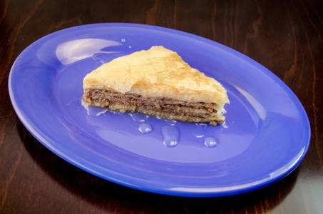 Baklava from Freska Mediterranean Grill in Middleton, WI