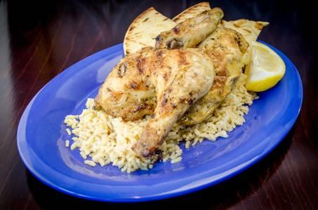 Greek Baked Chicken from Freska Mediterranean Grill in Middleton, WI