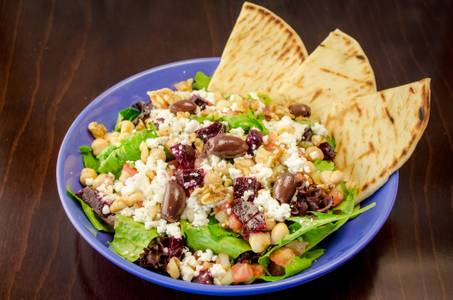 Mediterranean Garbanzo Salad from Freska Mediterranean Grill in Middleton, WI