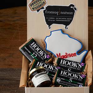 Hook's Cheddar Flight Collection from Fromagination in Madison, WI