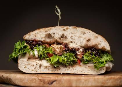 Veggiletta Sandwich from Fromagination in Madison, WI