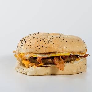 Double Play Breakfast Sandwich from Gandolfo's New York Deli - American Fork in American Fork, UT