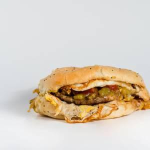 Huevos Locos Breakfast Sandwich from Gandolfo's New York Deli - American Fork in American Fork, UT