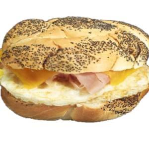 Radio City Breakfast Sandwich from Gandolfo's New York Deli - Orem in Orem, UT