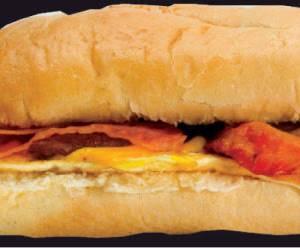 The Crew Breakfast Sandwich from Gandolfo's New York Deli - Orem in Orem, UT