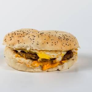 Upstate Breakfast Sandwich from Gandolfo's New York Deli - Orem in Orem, UT