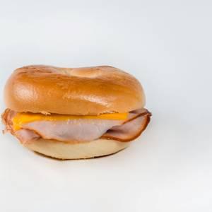 Montauk Point Bagel Sandwich from Gandolfo's New York Deli - Pleasant Grove in Pleasant Grove, UT
