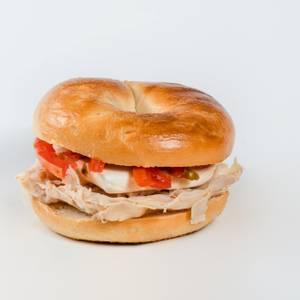 Skyline Bagel Sandwich from Gandolfo's New York Deli - Pleasant Grove in Pleasant Grove, UT