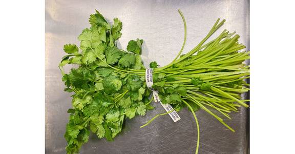 Chinese Cilantro, each from Global Market in Madison, WI