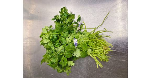 Cilantro, each from Global Market in Madison, WI