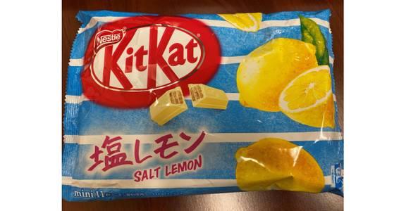 Kitkat Mini, Salt Lemon from Global Market in Madison, WI