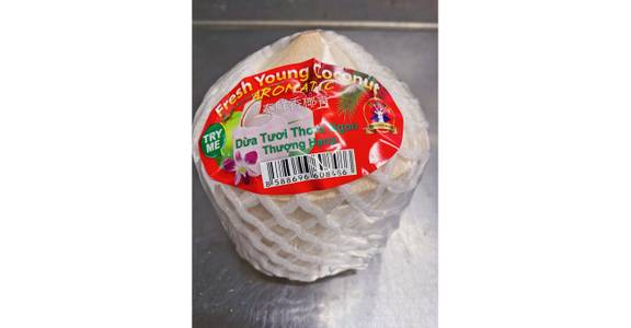 Young Coconut, each from Global Market in Madison, WI